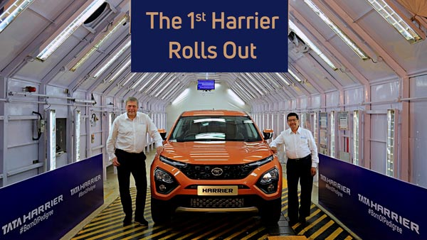 Tata Harrier Drive Modes (Road, Rain And Off-Road) Aka Terrain Select Shown In New Teaser Video