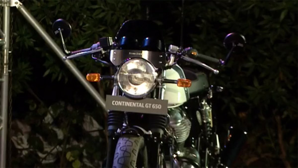 There's A Kitted-Up Continental GT 650 At The Venue