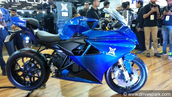 Emflux One Electric Superbike New Version Out; Gets Design & Electronic Upgrades