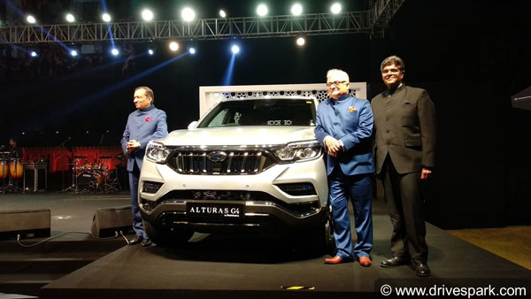 Finally, The New Mahindra Alturas G4 Has Been Launched