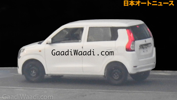 All-New Maruti WagonR Spied Undisguised: Complete Exterior Design Revealed