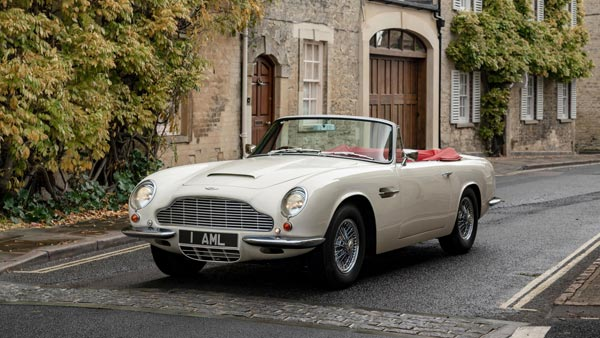 Aston Martin Heritage EV Project Converts Old Classic Aston Martin Cars Into Electric Vehicles