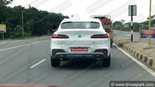 BMW X4 In India: Spy Pic Of The Upcoming Cheaper Alternative To The Mercedes-AMG GLC 43