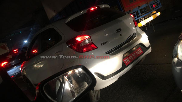 Ford Figo 'Blu' Facelift Spy Pics Out — The New Ford Figo CNG Variant For 2019?