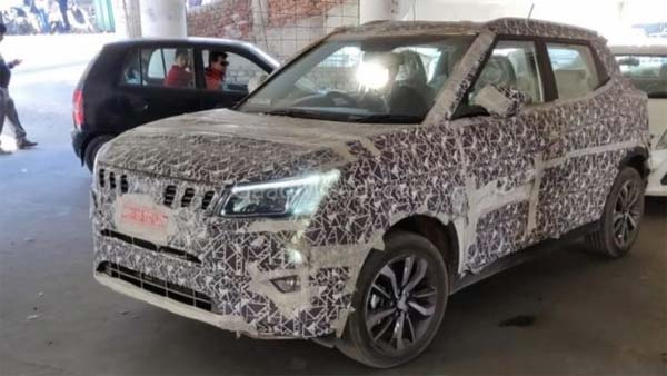 Mahindra S201 Interior Spy Pics Out — Comes Loaded To Take On The Maruti Brezza!
