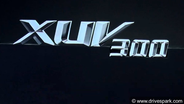 Mahindra XUV 300 Compact-SUV Now Official — Mahindra S201 To Launch In January 2019