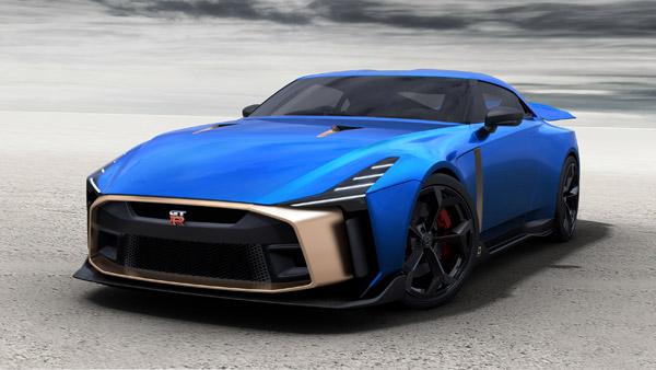 Nissan GT-R50 Production Confirmed; Limited Edition Model Celebrates 50 Year Of GT-R & Italdesign