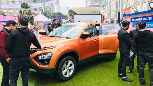 Tata Harrier Pre-Launch Display Starts In Gurgaon — Find Out If Your City Is Next!