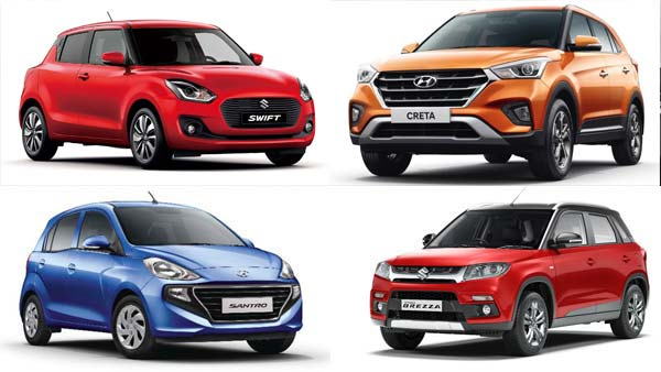 Top-Selling Cars In India November 2018: Maruti Swift Leads While The Hyundai Santro Makes It Big