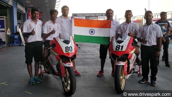 Asia Road Racing Championship (ARRC) 2018 Results — IDEMITSU Honda Racing India Makes A Grand Debut