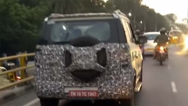 New Mahindra TUV 300 Facelift Spy Pics — Some 'X' Design Features Seen