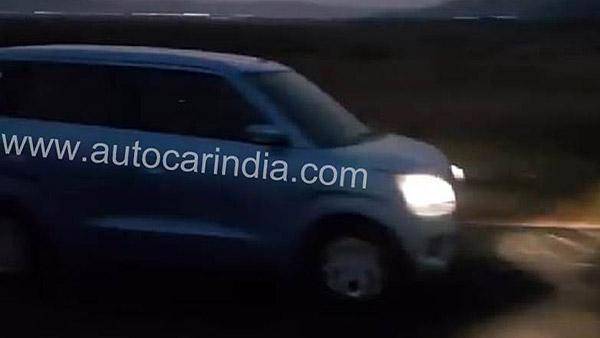 New Maruti Wagon R (2019) Spy Pics — Looks Bigger And Premium Than The Current Model