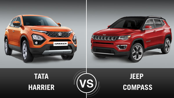 Tata Harrier Vs Jeep Compass — A Comparison Between The New And Proven Five-Seater SUVs