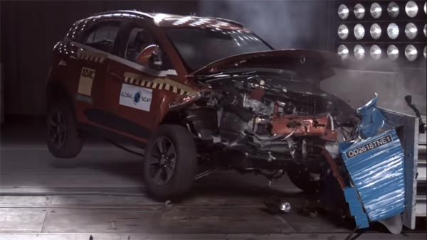 Tata Nexon Crash Test (Global NCAP) — Becomes The First Made-In-India Car To Score Five Stars