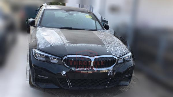 2019 Bmw 3 Series Spied In India Ahead Of Launch To Rival Mercedes