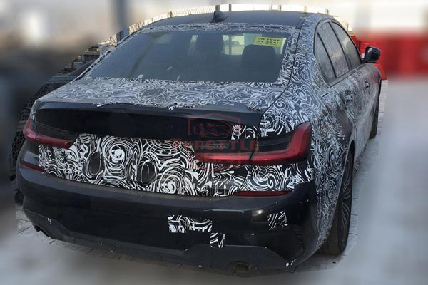 2019 Bmw 3 Series Spied In India Ahead Of Launch To Rival