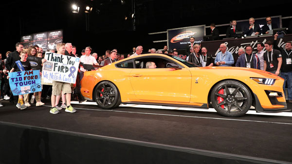 First 2020 Ford Mustang Shelby GT500 Auctioned For .1 Million