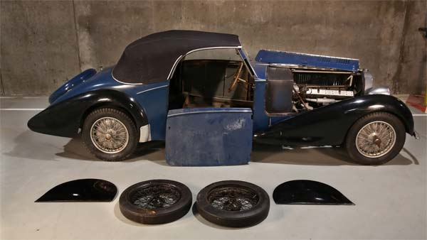 Three Vintage Bugatti Cars Worth $1 Million Discovered In Belgian Barn Find