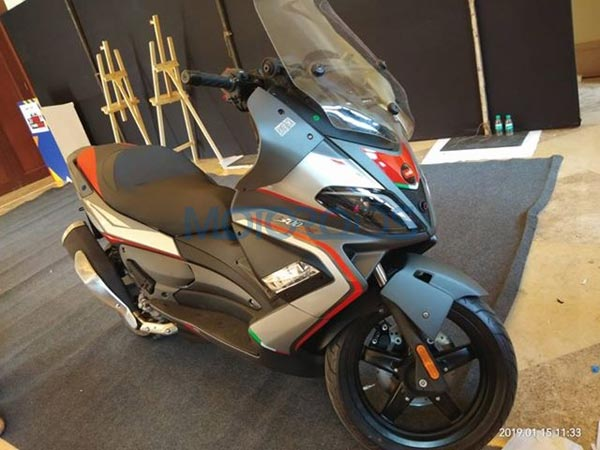 Aprilia 300cc Scooter Spy Pics; SR Max 300 Premium Maxi-Scooter For India