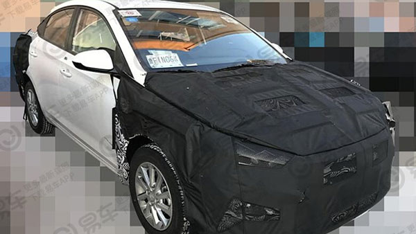 hyundai verna facelift spotted testing launch in 2020