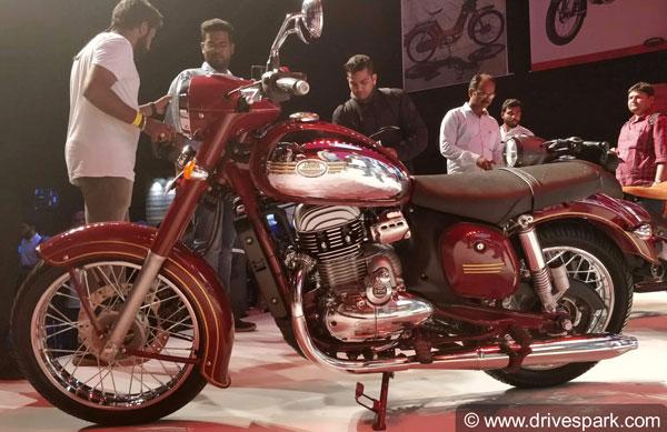 Jawa Motorcycles Sales