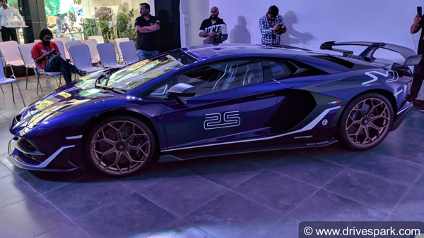 Lamborghini aventador svj price in india