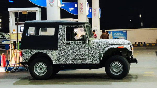 New Mahindra Thar Model's Spy Pics Out Again — Is It The Largest Indian Off-Roader Ever Made?
