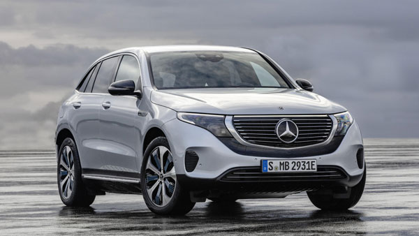 Mercedes-Benz EQC Electric Car India Launch In 2019; All-Electric SUV Imported To India