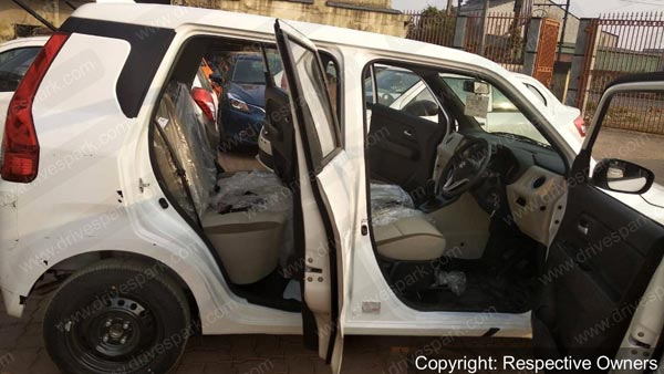 New Maruti WagonR Interior Spy Pics: Images Of Interiors Features Of New WagonR Revealed