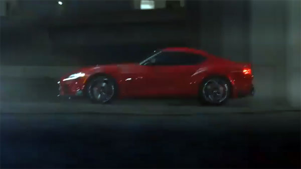 New Toyota Supra Video
