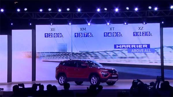 Tata Harrier Launch Highlights — Launched At Rs 12.69 Lakh