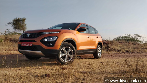 Tata Harrier Arrives At Dealership