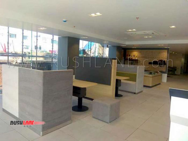 Kia Motors India Dealership: First Photos Of New Dealership In Noida
