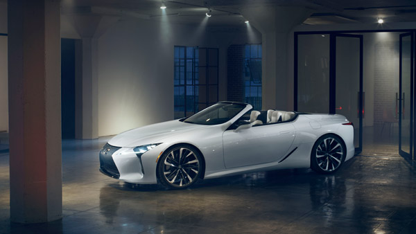 2019 Detroit Auto Show — New Lexus LC Convertible Concept Unveiled: Is It The Ultimate In Beauty?