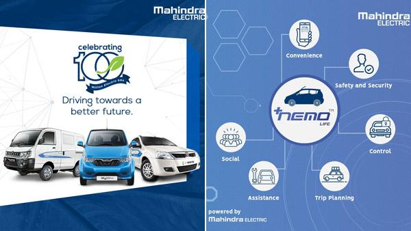 Mahindra Electric's NEMO Life App Celebrates 100 Million 'e-Kilometres'