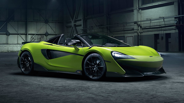 McLaren 600LT Spider Unveiled — Likes To Eat Pista