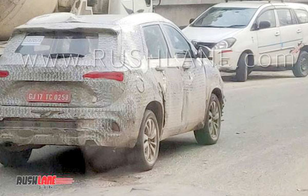 mg hector india spy images