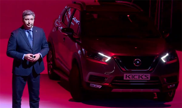 Nissan Officials Welcome The Gathering