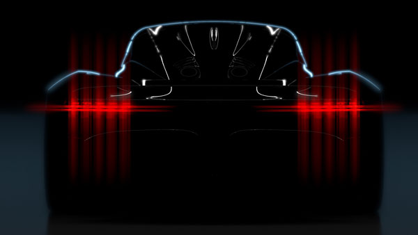 Aston Martin Project 003 Hypercar Teased Ahead of Geneva Motor Show Debut