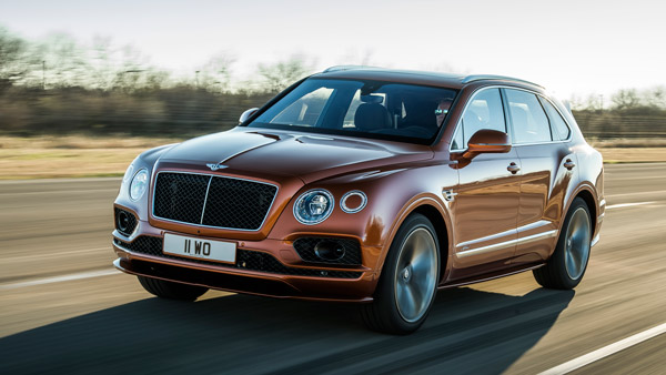 Bentley Bentayga Speed Runs Off With 'The Fastest SUV In The World' Title; Italians Worried
