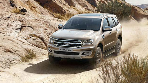Ford Endeavour 2019 Facelift