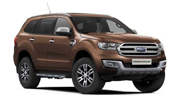 Ford Endeavour Pre-Facelift Model Gets Discount Offers Up To Rs 1 Lakh