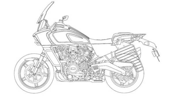 Harley-Davidson Pan America Patent Images Revealed — Will It Come To India?