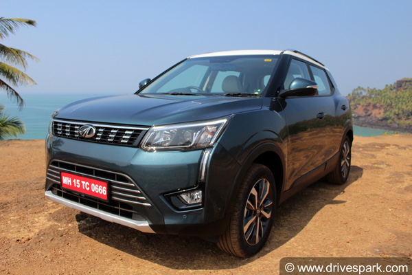 mahindra xuv300 review front three quarter profile