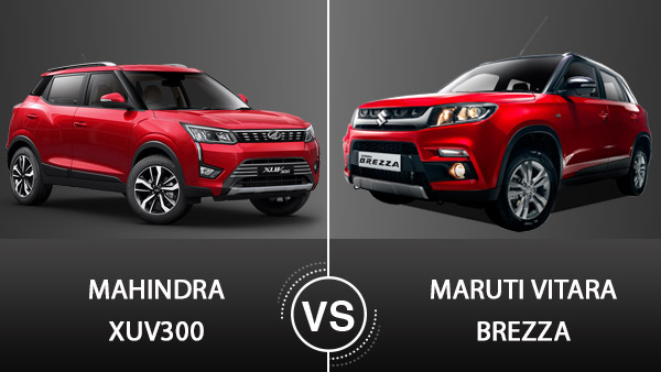 Mahindra XUV300 Vs Maruti Vitara Brezza — A Detailed Comparison