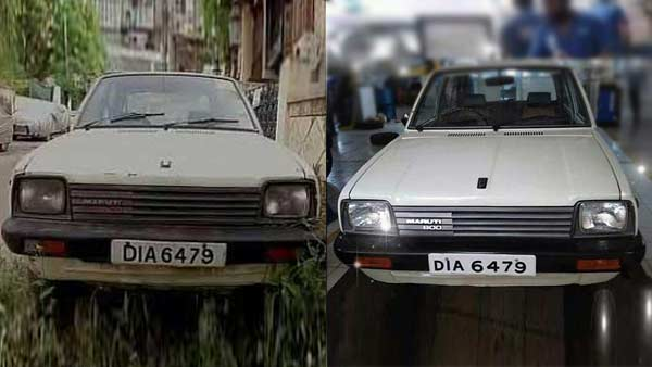 The First-Ever Maruti 800 Delivered To Customer Gets Restored After 26 Years