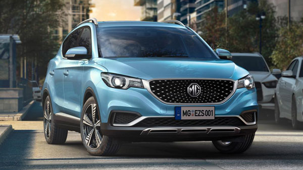 MG eZS Electric SUV Launch Timeline Revealed