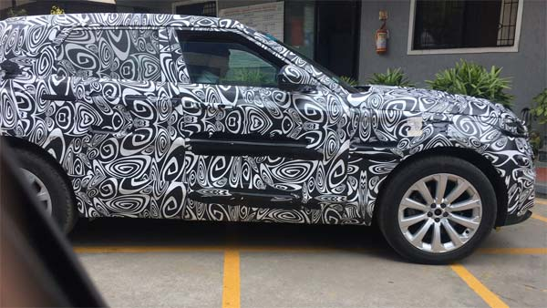 Spy Pics Of New Range Rover Evoque (2019) Out — Check Out The First Shots From Bangalore