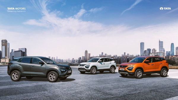 Tata Harrier Modified With Dual-Tone Colour