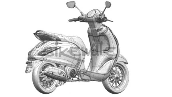 New Bajaj Scooter Design Sketches Revealed